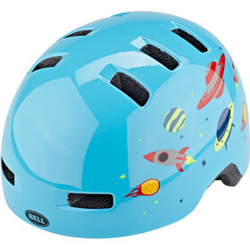 Bell Lil Ripper Casque Enfant, light blue space